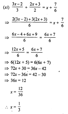 Selina Concise Mathematics Class 8 ICSE Solutions Chapter 14 Linear
