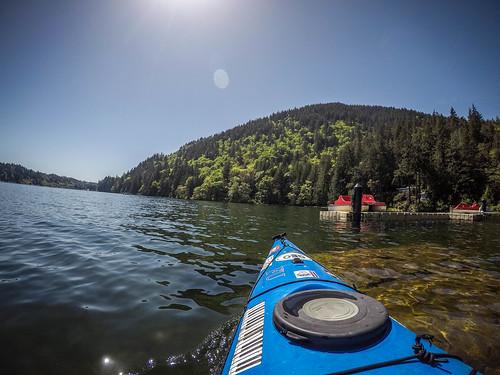 Lake Whatcom Paddling-30