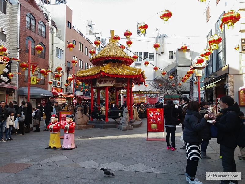 9 Hari Babymoon ke Jepang - Nankin-machi Square