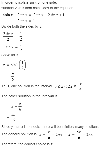 larson-algebra-2-solutions-chapter-14-trigonometric-graphs-identities-equations-exercise-14-4-15e