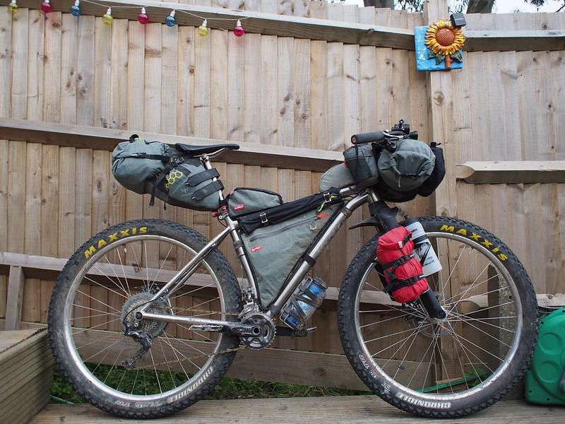 Bikepacking set up