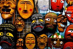 Masks by Mountainbread CC Flickr
