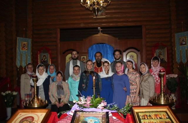 Богослужебная практика 2018 05 08 Priests, and Trainees, and Parishioners (2nd photo)