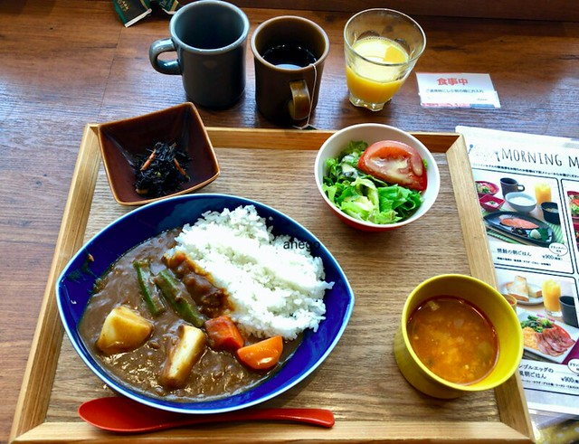 kawasaki 朝のカレー