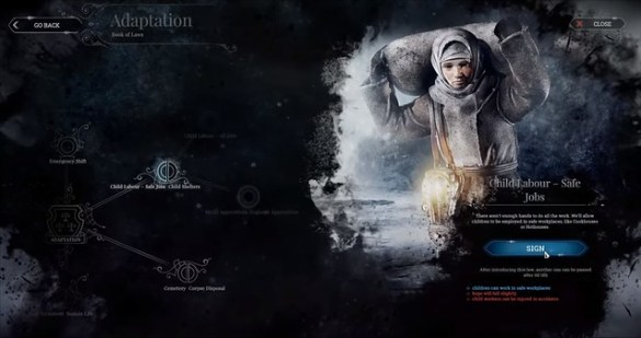 FrostPunk - Child Labour