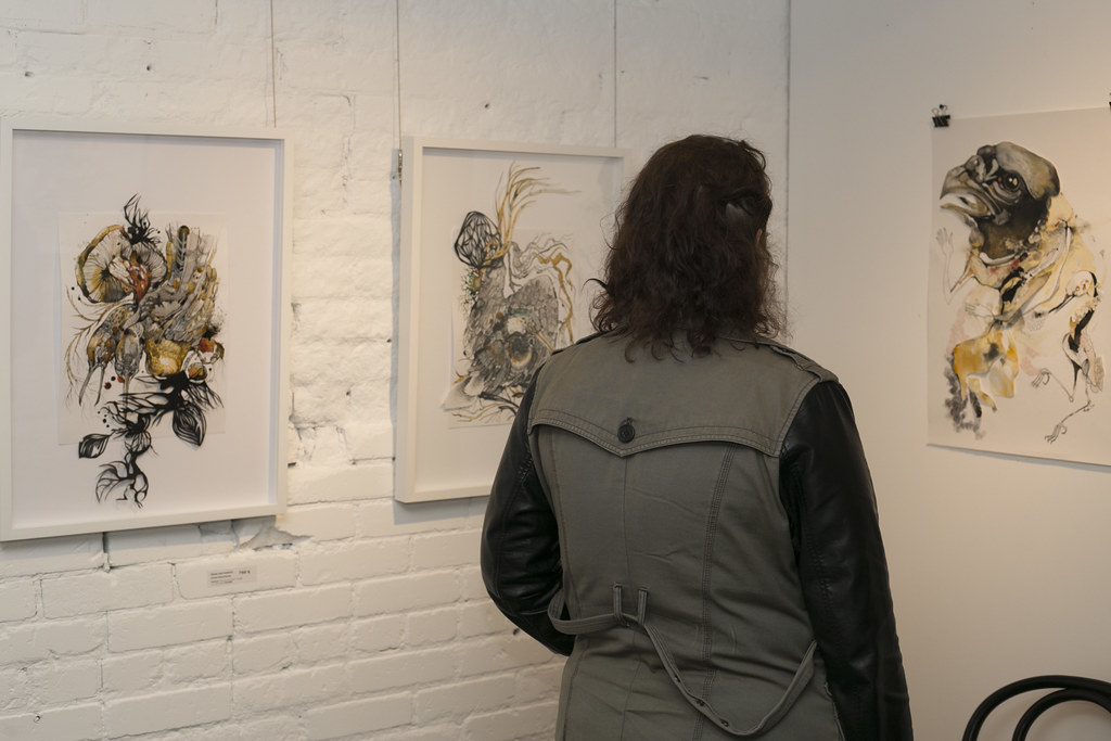 Paper Aviary @ Seven Below Gallery
