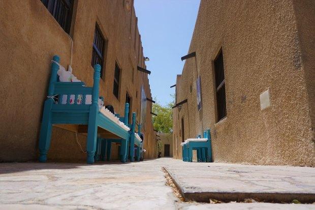 Street in Al Bastakiya historic district