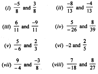 Selina Concise Mathematics Class 8 ICSE Solutions Chapter 1 Rational