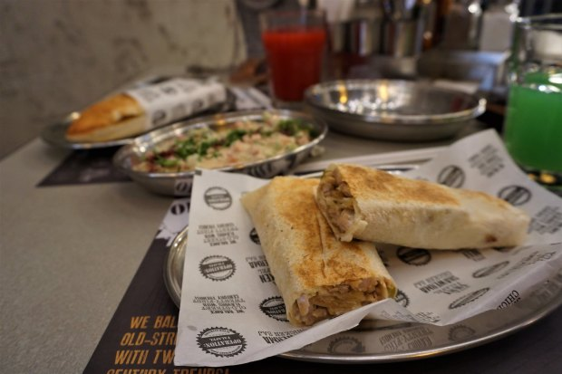 Local food at Operation: Falafel