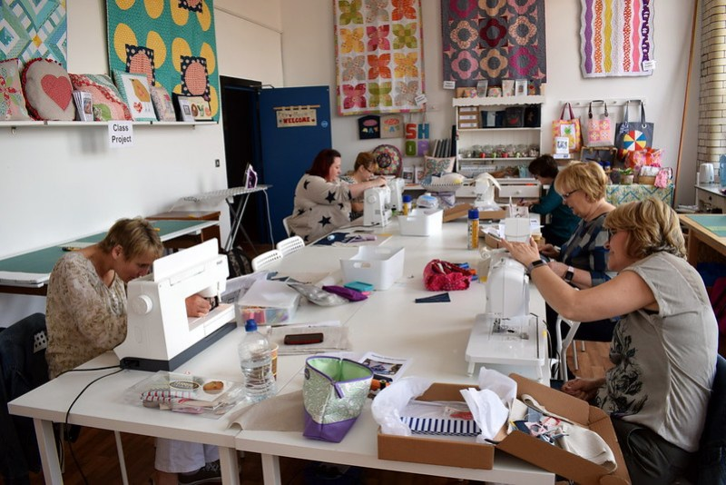 Applique Sailboat Cushion Workshop