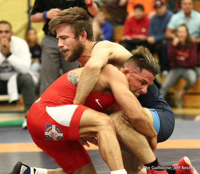 70kg: Jason Chamberlain (Titan Mercury) vs Frank Molinaro (Titan Mercury). 180520AJF0451