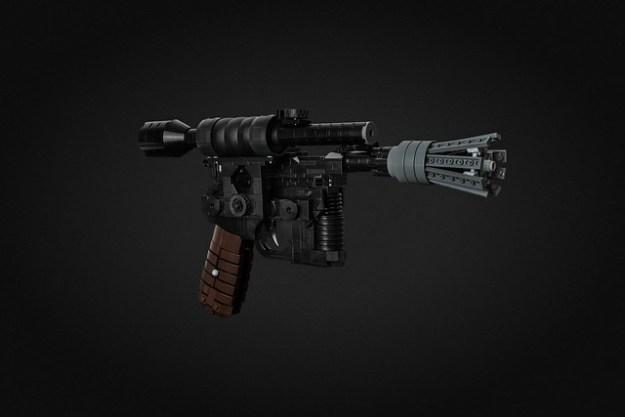 Han Solo's DL-44 Heavy Blaster Pistol