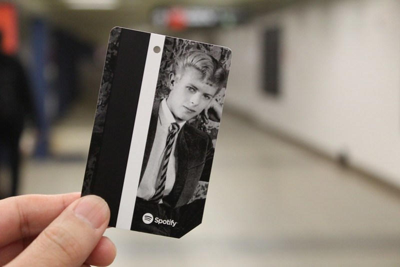 David Bowie MetroCard