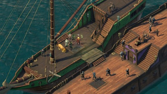 PIllars of Eternity 2 - Ship Battles
