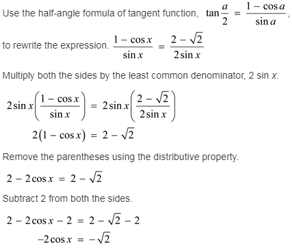 larson-algebra-2-solutions-chapter-14-trigonometric-graphs-identities-equations-exercise-14-7-39e