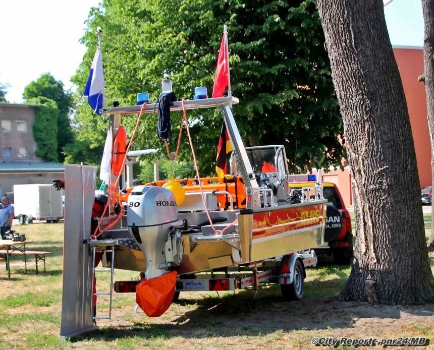 Bootstaufe und Saisoneröffnung der DLRG Potsdam