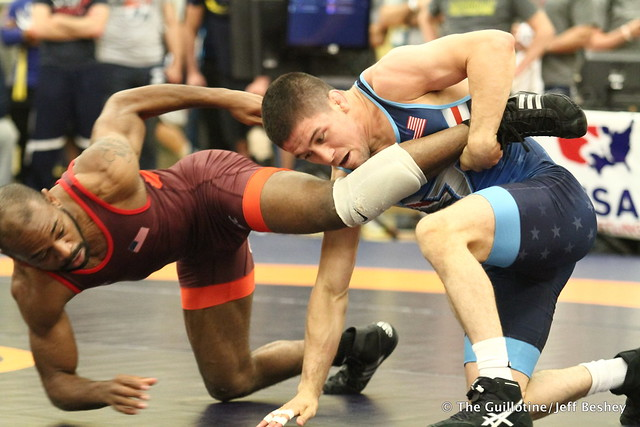 61  Tyler Graff (Titan Mercury Wrestling Club) VSU Darrius Little (Lehigh Valley Wrestling Club), 10-0 5:35. 180519CJF0026