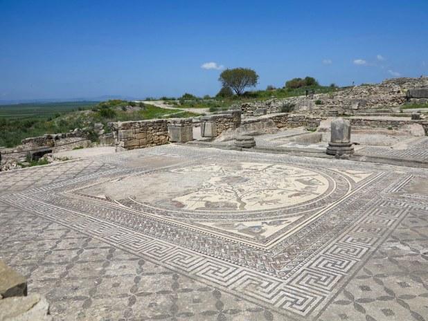 Casa de Orfeo en Volubilis