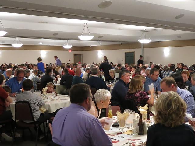 2018 Minnesota Wrestling Coaches Association Dave Bartelma Hall of Fame Banquet. 180428AJF0698