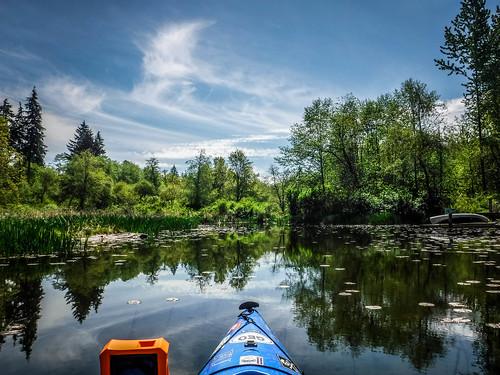 Lake Samish Paddling-75