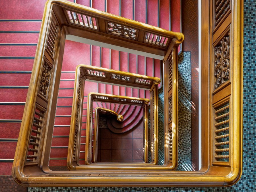 Stubbenhuk trappenhuis, foto door Karsten Gieselmann