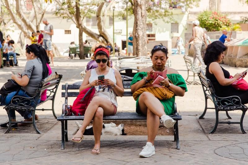 People in Havana