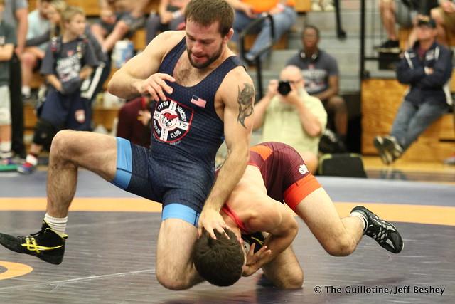 65  Jayson Ness (Minnesota Storm) VPO1 Nick Dardanes (Titan Mercury Wrestling Club), 6-3. 180519AJF0074