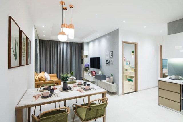 Nhà Mẫu dự án căn hộ cao cấp Charmington Iris Quận 4