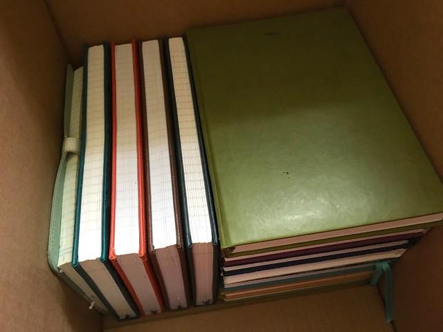 Shredding journals