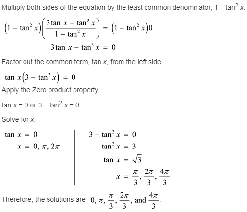 larson-algebra-2-solutions-chapter-14-trigonometric-graphs-identities-equations-exercise-14-7-13gp1