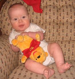 I gotted me a Pooh Bear mama!