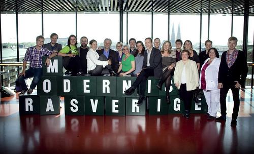 Partistyrelsen 2010 by Miljöpartiet de gröna.