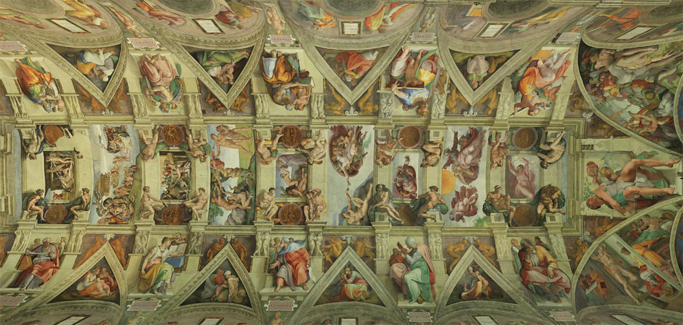 5189655413 f2deefb637 b Sistine Chapel   Incredible Christian art walk through
