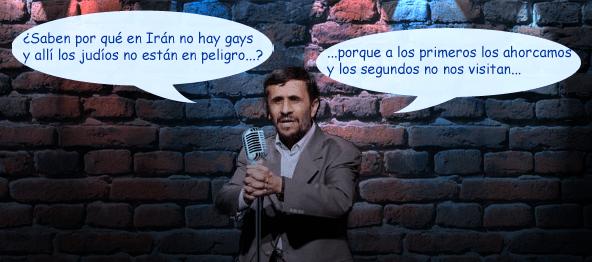 Mahmud Ahmadineyad de humorista