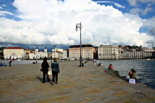 Trieste, Il molo Audace