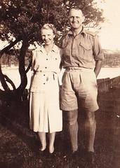 Grandma & Grandpa Manly 1942