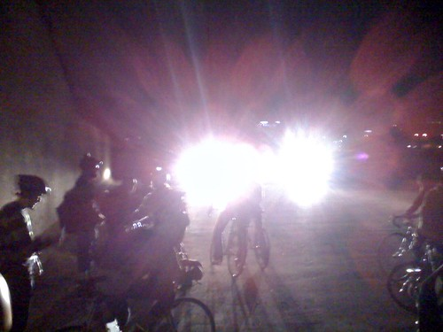 The Cops arrival