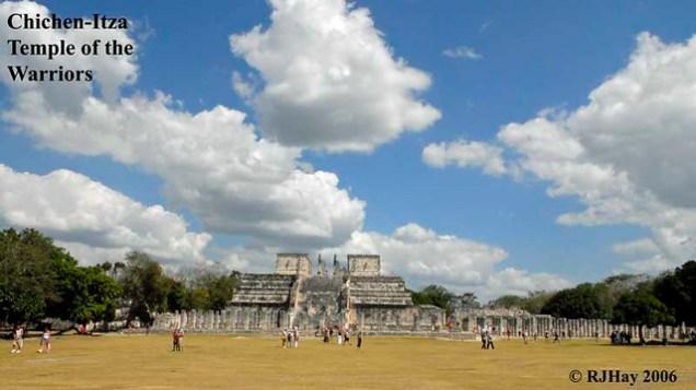 Chichen-Itza -Temple of the Warriors