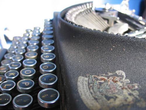 royally endorsed typewriter