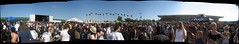 """Huge crowd panoramic during """"Coheed and Cambria"""""""