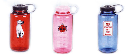 32 oz. GSI OutdoorsColored Lexan Web Clip Top Bottle