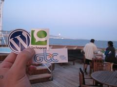 Wordpress, Technorati, GBC stickers