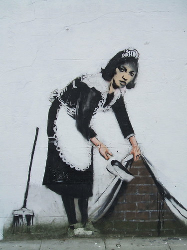Banksy? by moufle.