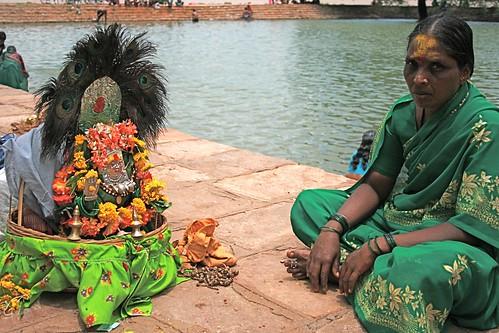Devadasi woman