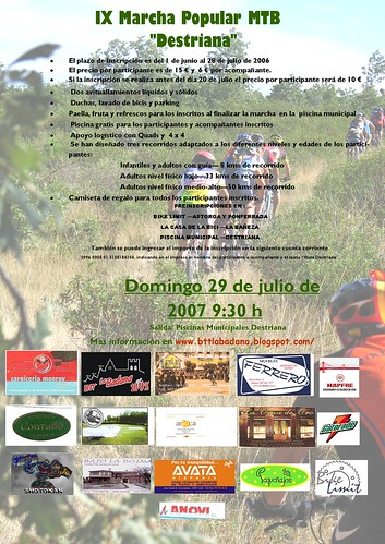 CartelDestriana2007