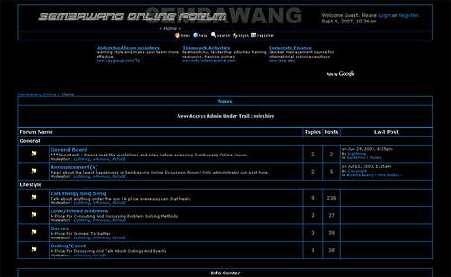 Sembawang Online Forum