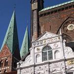 St.Marien und das Rathaus