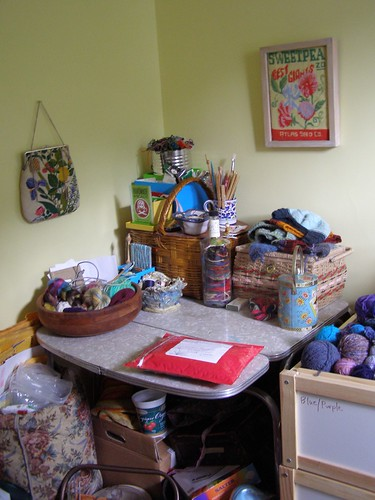 yarn room left front