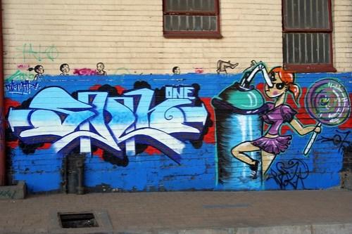 WONDERFUL GRAFFITI TAKEN BY STEVE