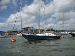 Blue Mistress back on mooring 1